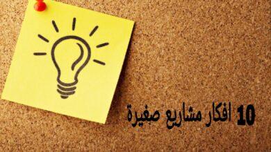 10 افكار مشاريع صغيرة