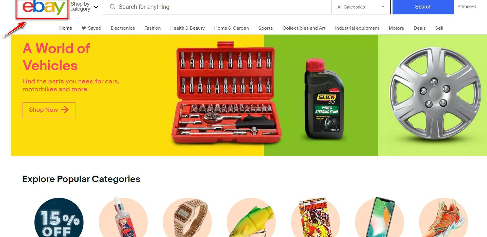 موقع Ebay